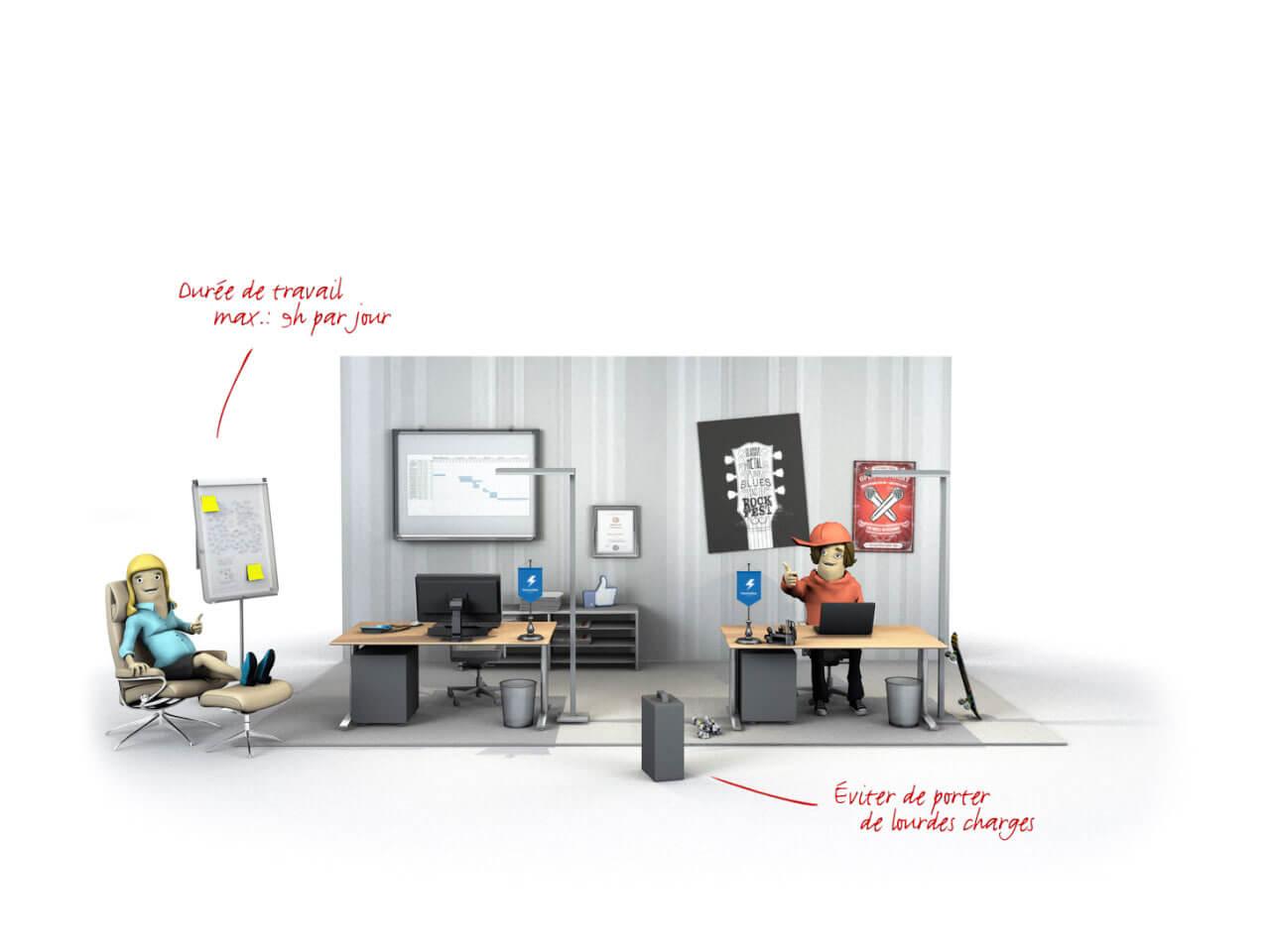 box cfst dispositions sp ciales de protection pr vention de stress par organisation du. Black Bedroom Furniture Sets. Home Design Ideas