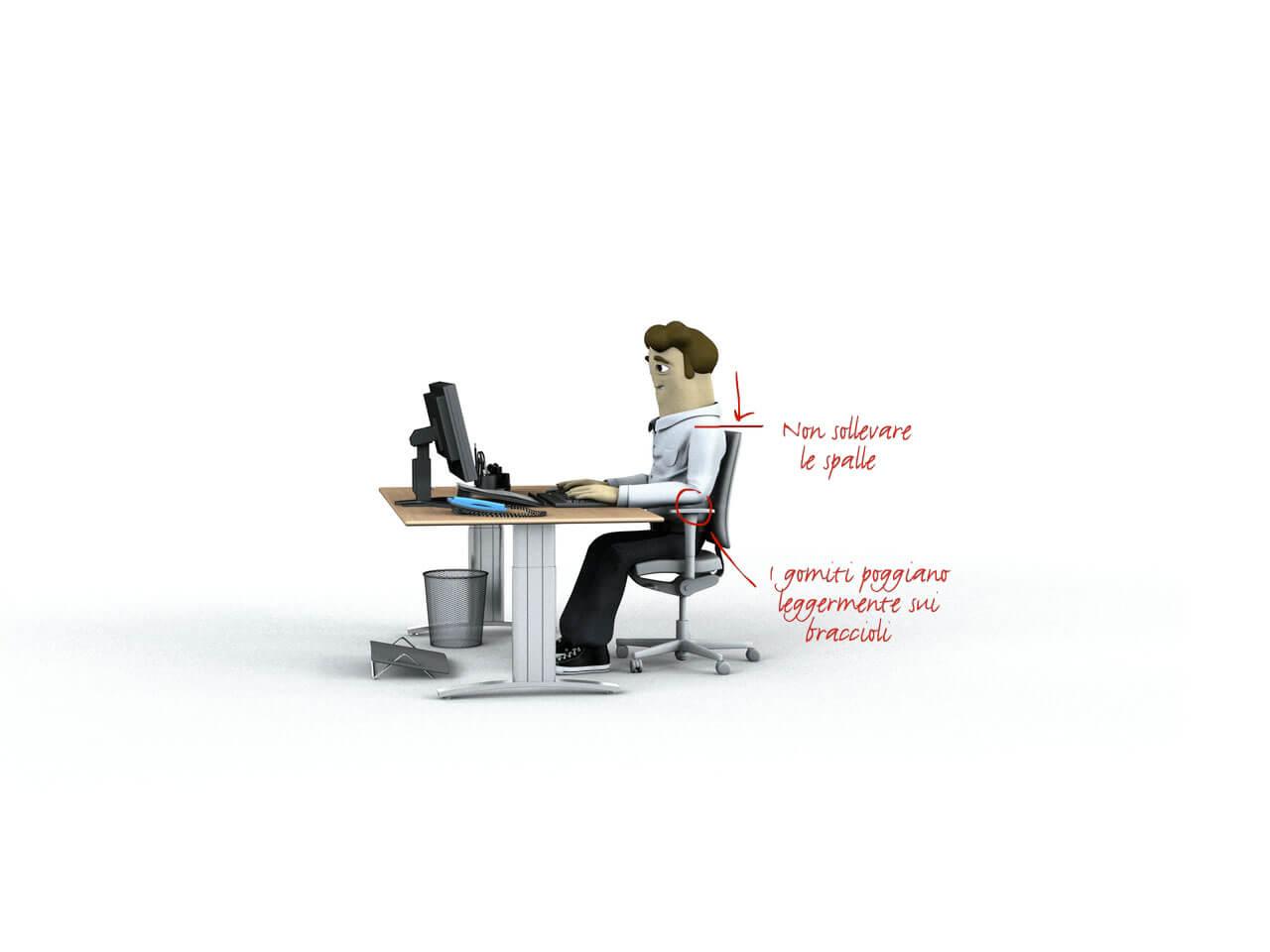 Box cfsl braccioli ergonomia del posto di lavoro - Ergonomia sedia ...